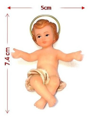 niño jesus santini  navidad pesebre nacimiento