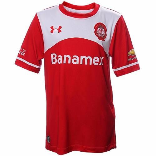 Jersey Deportivo Toluca Local Niño 15 16 Under Armour Ua1506 ... e8a204b660a26