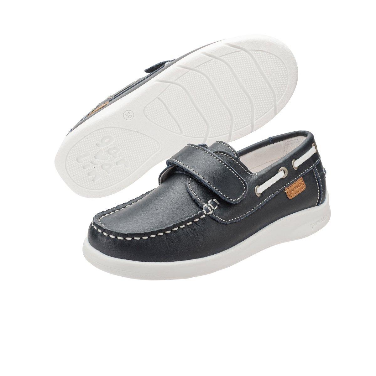 09b9a099 Niño Zapato Nautico Velcro Garvalin - $ 1,399.00 en Mercado Libre