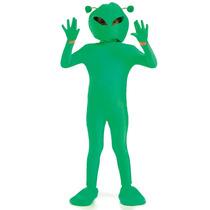 Extranjero Disfraces - Boy Traje Verde Grandes Niños Childs