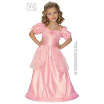 Niños Princesa Costume - Chicas Childs Rosa Del Vestido De