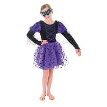 Bat Traje - Pequeño Niñas Princesa Disfraces De Halloween