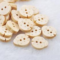 Botones De Madera Con Forma De Chinita - Infantiles, Bebes