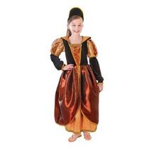 Princesa Costume - Medium Tudor Isabelino Medieval