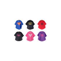 Impermeables Para Niños Superhéroes