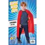 Superhero Cabo - Hombres Red De Halloween Disfraz