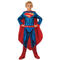 Disfraz De Superman Returns - Niños Childrens Medio 5-6 Añ