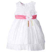 Vestido Blanco Talla 18/24 Meses A 3 Años (bautizo,fiestas