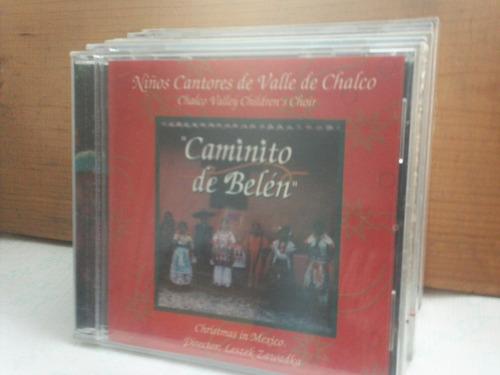 niños cantores de valle de chalco. caminito de belen. cd.
