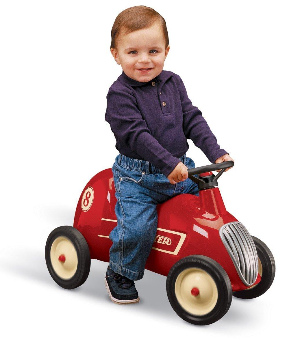 Carrito montable ni os carro paseo radio flyer juguete hm4 for Carritos con ruedas para cocina