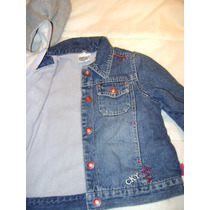 Chaqueta Jeans Forrada Colloky 12-18