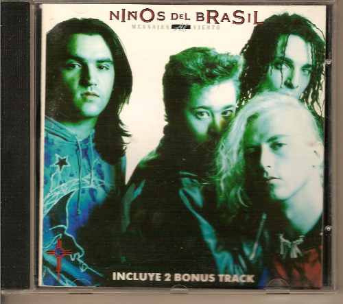 niños del brasil cd mensajes al viento mega raro bunbury