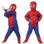 Disfraz Niño Spiderman Hombre Araña Nuevos!!