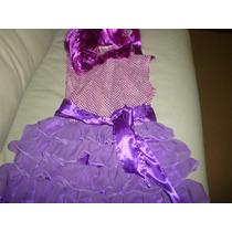 Remate!!!!disfraz Traje Violeta !ojo!! Solo T4 Años.