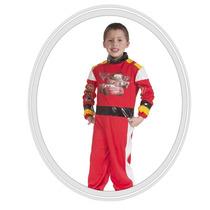 Disfraz De Niño Disney Cars 6 A 7 Años Rojo