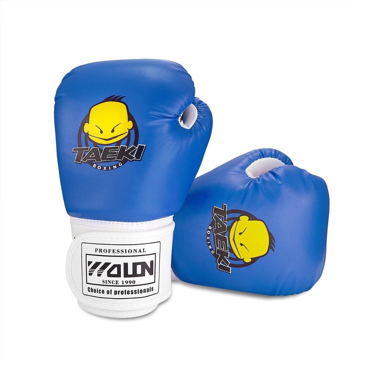 niños guantes de boxeo pu niños niños sparring de dibujos