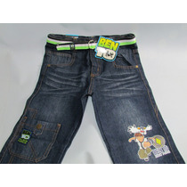 Pantalones Jean Niños Ben10