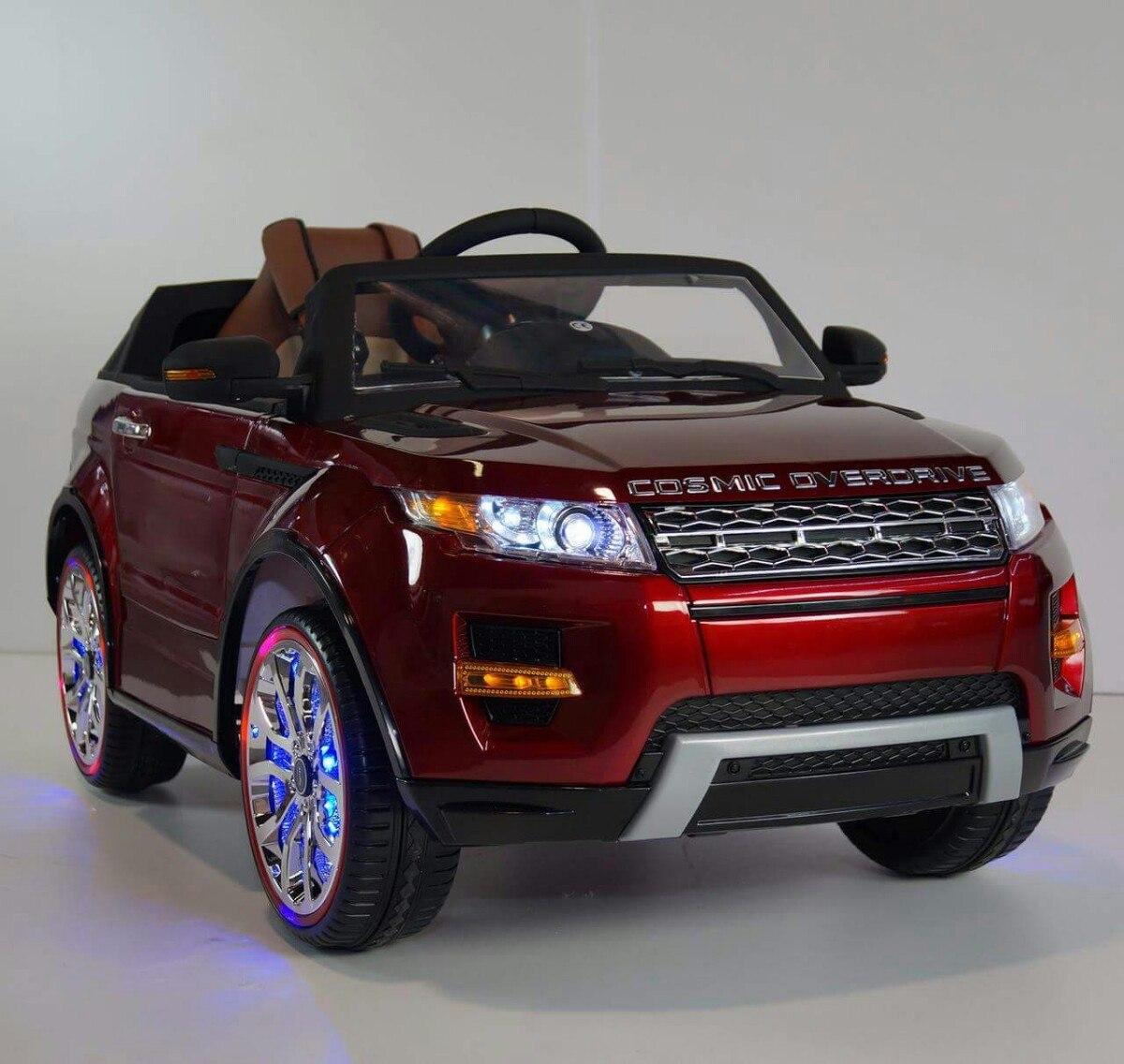 Carro A Bateria Para Ni 241 Os Juguetes Land Rover Control