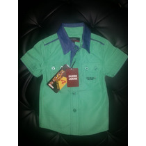 Camisas Guess Jeans Para Niños (envio Gratis)