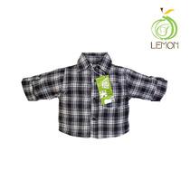 Camisa Manga Tres Cuartos Para Niños - Lemon C2-00014