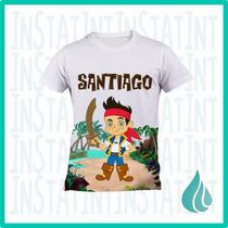 Camisa Personalizada Jake El Pirata Peppa Dra Juguetes Sofia