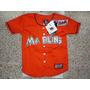 Camisa Miami Marlins Major League Baseball Talla De Niños