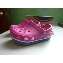 Crocs Retro Clog - Color Fucsia - Talla 29/30 - Originales!!