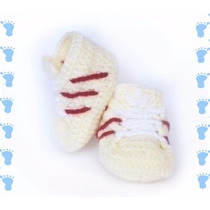 Zapatitos Zapatos Bebe Crochet Baby Shower 0-3meses
