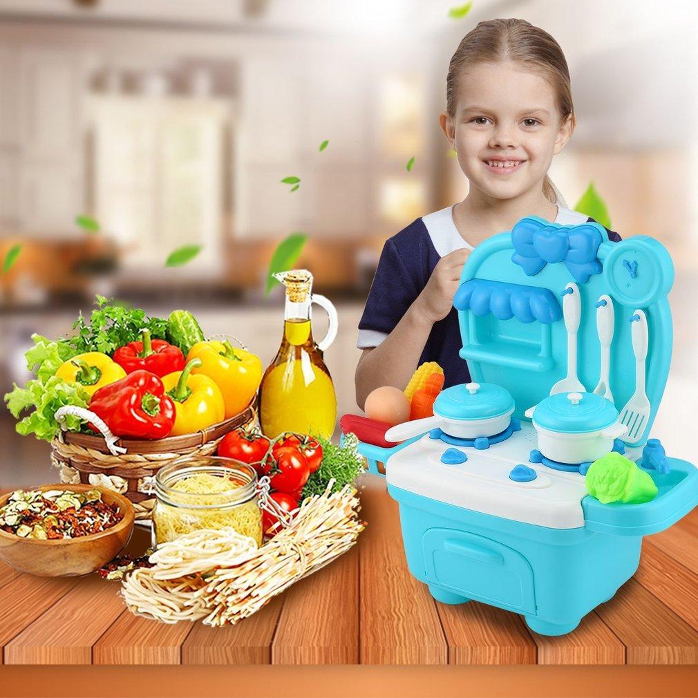 Regalo Padre Kits Niños Simulación Mini Juguetes Cocina Caja tCBQsdohrx