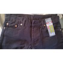 Pantalon Levis Blue Jeans Para Niños Talla 12 Color Marron