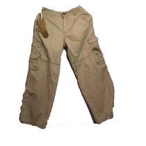 Pantalon Para Niños G F Boys Talla 10 100% Algodon C Caqui
