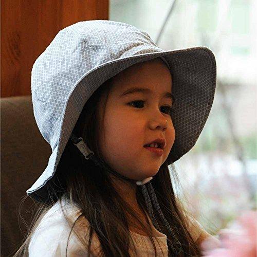 3581eaa45c7d2 Niños Pequeños Niñas Algodón Sombreros De Sol 50 Upf