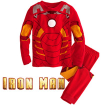 Pijama Niños Ironman Tipo Disfraz + Obsequio