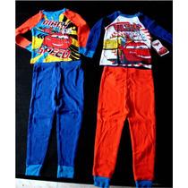 Pijama Importada Niño 2 X 1 Cars Talla 2 Disney Elmo