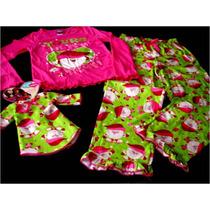 Pijama Importada Niña Navidad Tallas 4/5, 6 Y 7/8 Disney