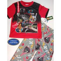Pijamas Niño Infantiles Star Wars Angry Birds Originales