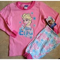 Frozen Pijama Elsa Ana Pantalon Importada Original