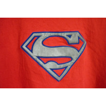 Polera Manga Larga, Superman, Talla 12--14