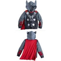 Thor Poleron Tipo Disfraz Talla 3 A Talla 10