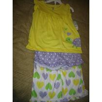 Pijama 3 Piezas Carters Talla 5 ( 586 )