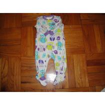 Mameluco Pijama Termicos Carters Buhos 6 Meses ( 568 )