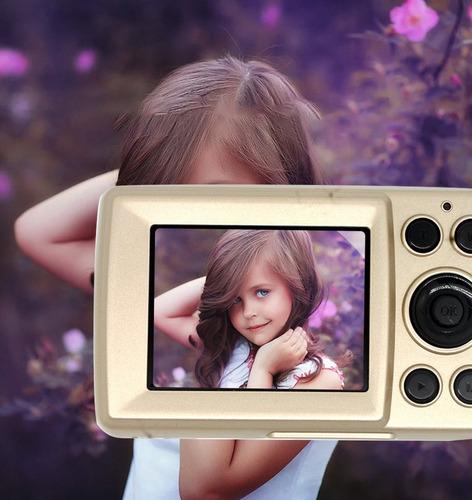 niños 's durable práctico 16 millón pixel compacto casa digi