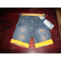 Pantalon Corto Infantil De Moda