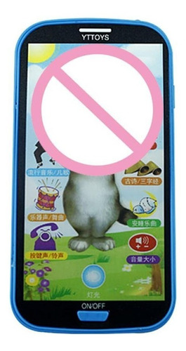 niños simulador música juguete teléfono célula pantalla toca