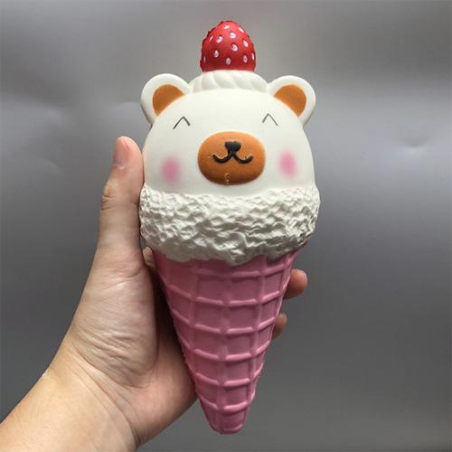 niños slow rising helado forma squishy juguete aliver