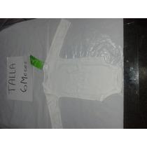 Body Blanco Pima Cotton 100 % Algodon Niño Y Niña