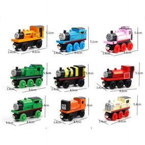 Juguete Trenes 's Magnético De Madera Co Niños Tren Thomas Yb6gvIfy7