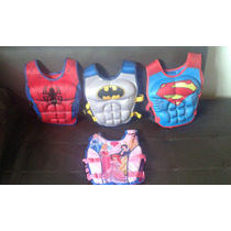 Chaleco Flotador Super Heroes Para Niños