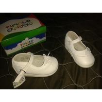 Zapatos Pipiolo Nuevos Primeros Pasos Talla 22 Blancos