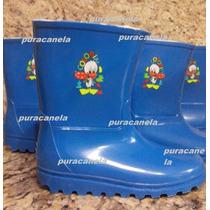 Botas Plasticas Para La Lluvia Niños Y Niñas